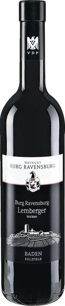 Abbildung des Sortimentsartikels Ravensburg Baden Burg Ravensburg Lemberger 0,75l