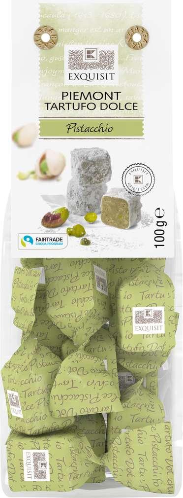 Abbildung des Sortimentsartikels Exquisit Piemont Tartofu Dolce Pistacchio 100g