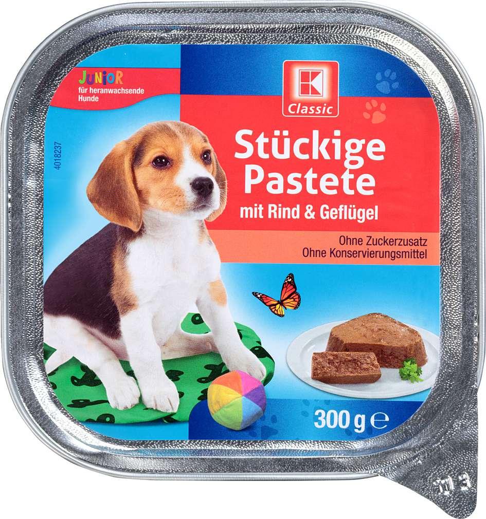 Abbildung des Sortimentsartikels K-Classic Stückige Pastete mit Rind & Geflügel 300g