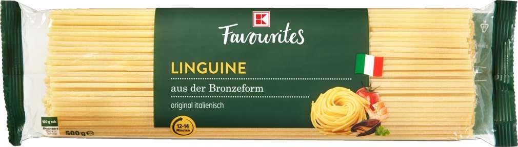 Abbildung des Sortimentsartikels K-Favourites Linguine al bronzo 500g