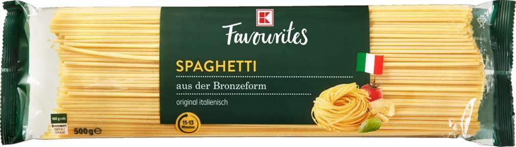 Abbildung des Sortimentsartikels K-Favourites Spaghetti al bronzo 500g