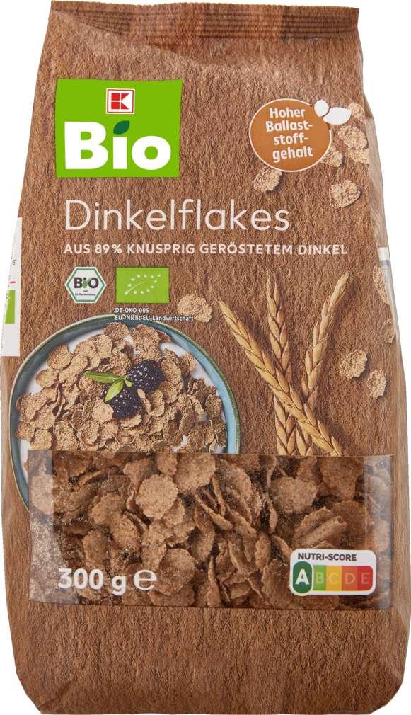 Abbildung des Sortimentsartikels K-Bio Dinkelflakes 300g