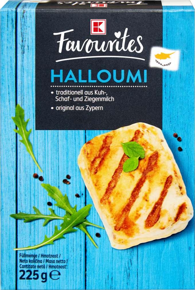 Abbildung des Sortimentsartikels K-Favourites Halloumi natur 250g