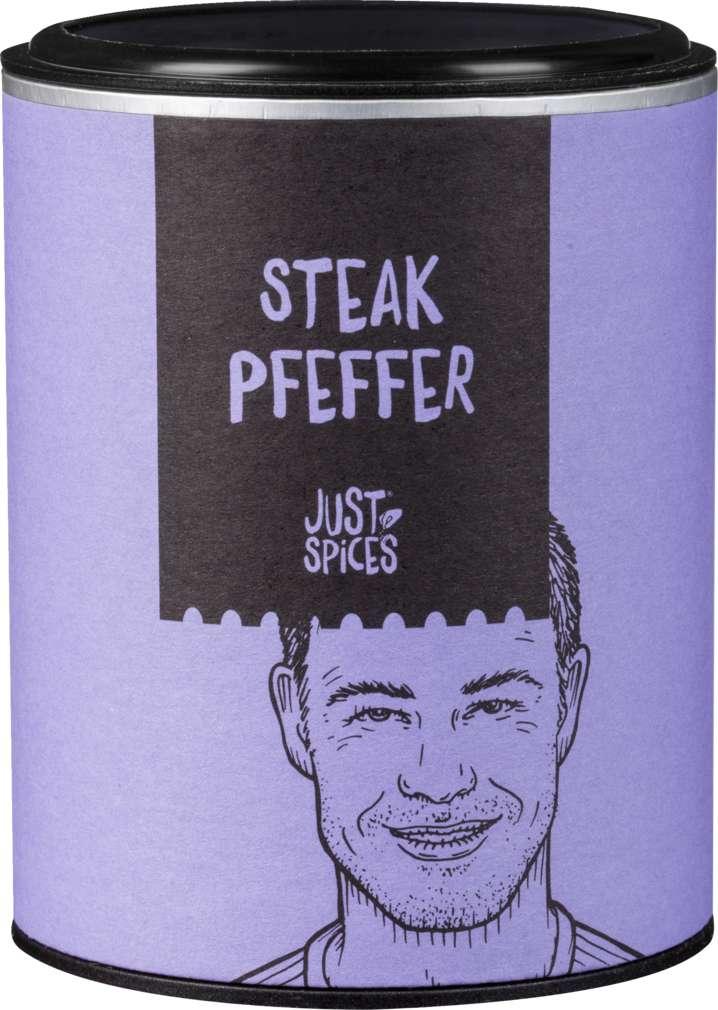 Abbildung des Sortimentsartikels Just Spices Steak Pfeffer 60g