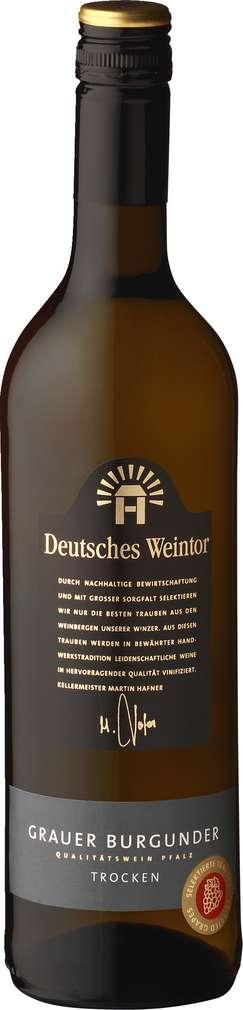 Abbildung des Sortimentsartikels Deutsches Weintor Grauer Burgunder trocken 0,75l