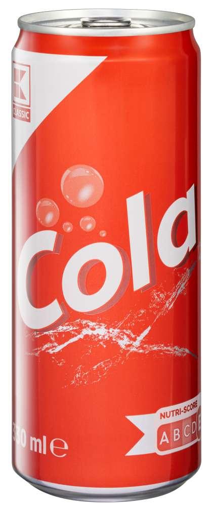 Abbildung des Sortimentsartikels K-Classic Cola 0,33l
