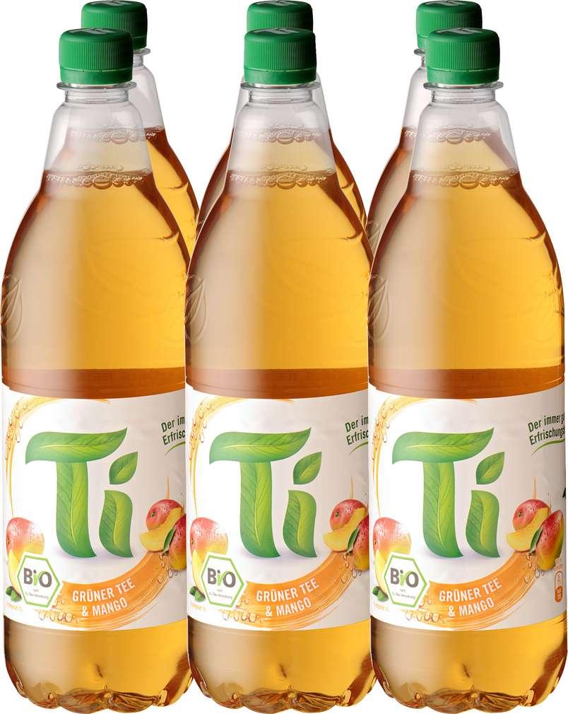 Abbildung des Sortimentsartikels Ti Grüner Tee & Mango 6x1l