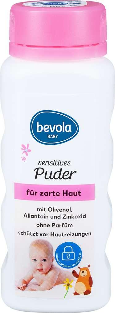 Abbildung des Sortimentsartikels Bevola Sensitives Puder für zarte Haut 100g