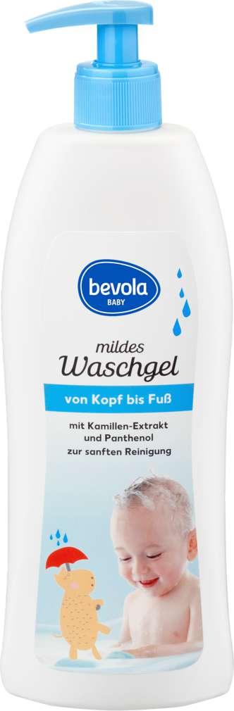 Abbildung des Sortimentsartikels Bevola Waschgel von Kopf bis Fuß 500ml