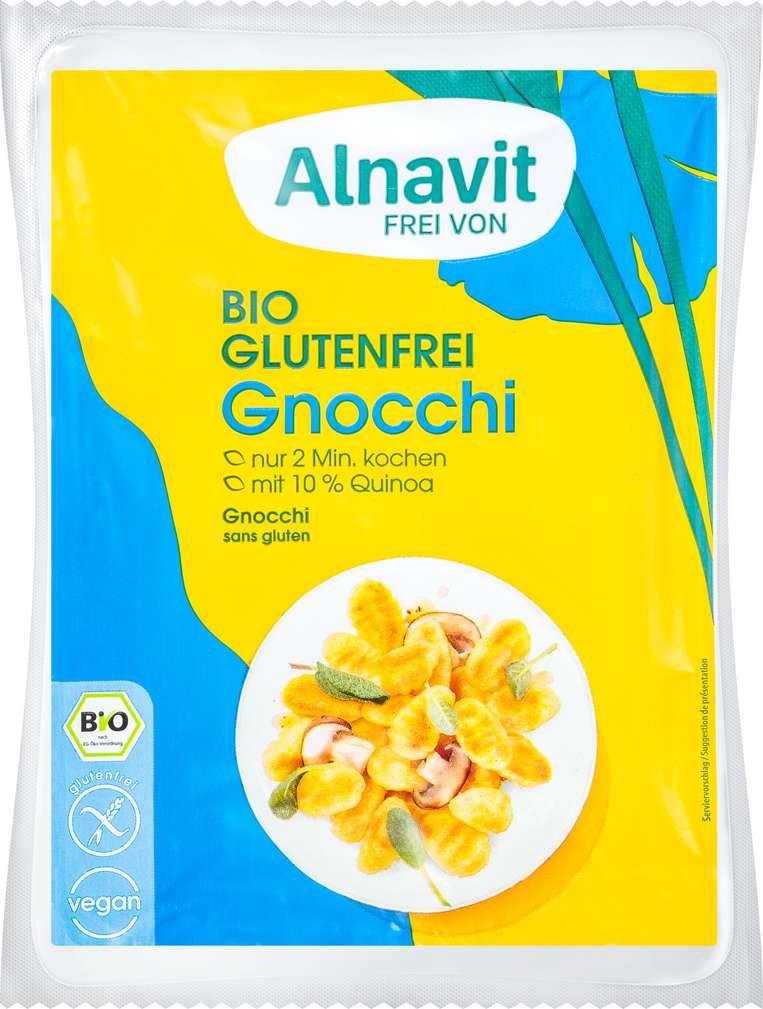 Abbildung des Sortimentsartikels Alnavit Bio-Gnocchi mit Quinoa glutenfrei, laktosefrei 250g