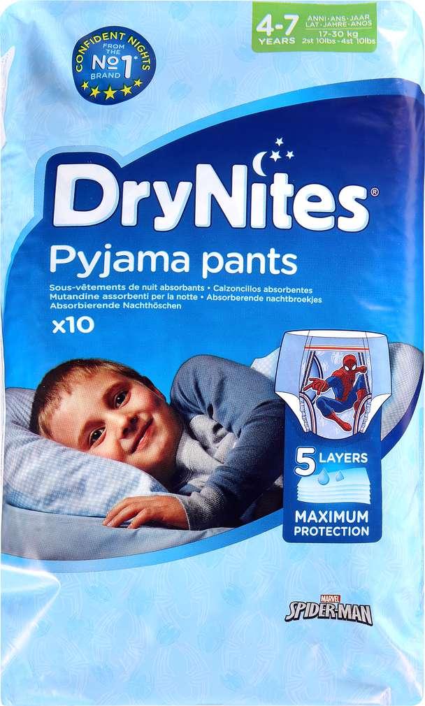 Abbildung des Sortimentsartikels DryNites Pyjama Pants Jungs 4-7 Jahre 10 Stück