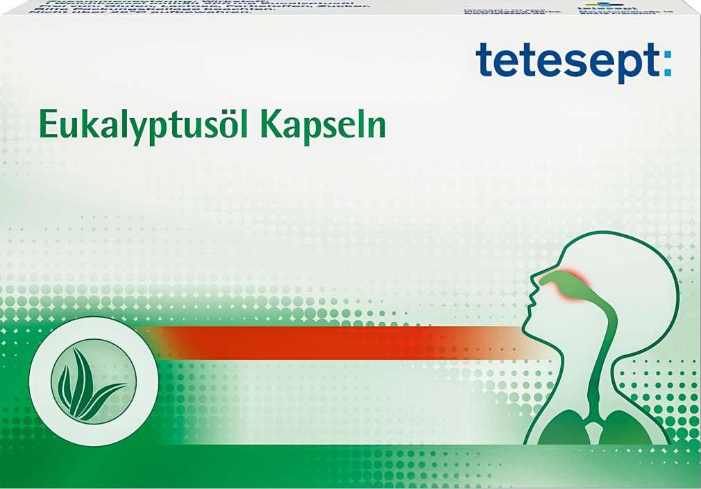 Abbildung des Sortimentsartikels Tetesept Eukalyptusöl Kapseln 20 Stück