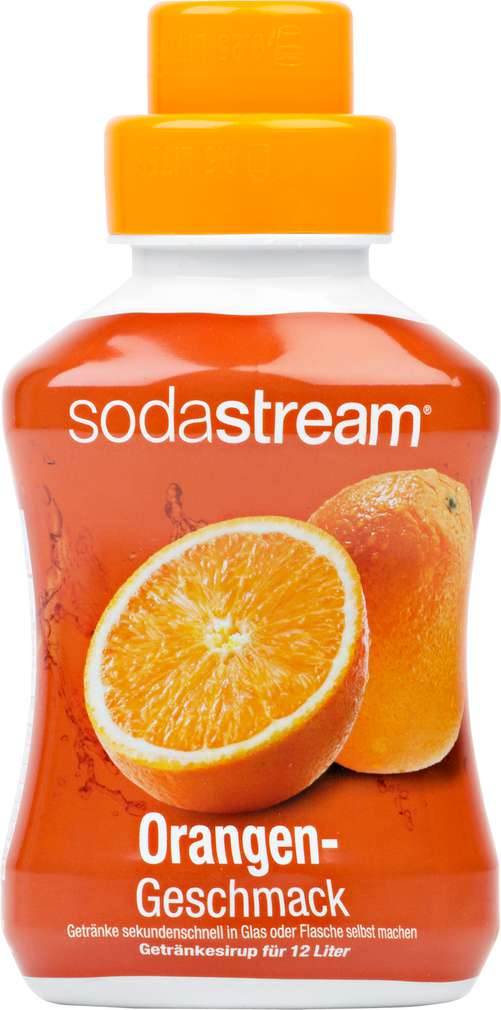 Abbildung des Sortimentsartikels SodaStream Soda Mix Orange 500ml