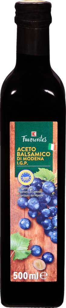 Abbildung des Sortimentsartikels K-Favourites Aceto Balsamico di Modena 500ml
