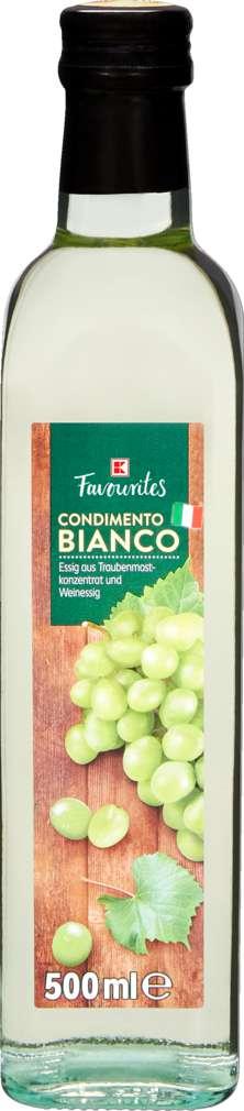 Abbildung des Sortimentsartikels K-Favourites Condimento Bianco 500ml