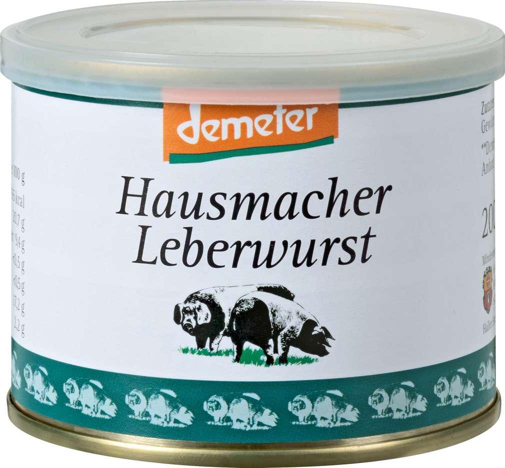 Abbildung des Sortimentsartikels BESH Demeter Leberwurst 200g