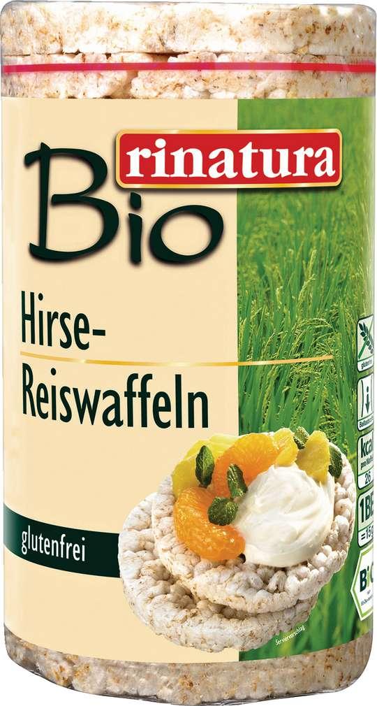Abbildung des Sortimentsartikels Rinatura Bio Hirse-Reiswaffeln 100g