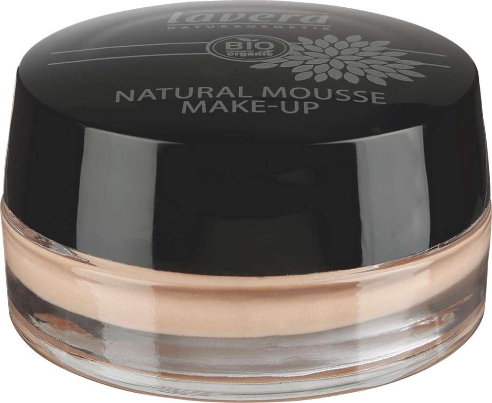 Abbildung des Sortimentsartikels Lavera Natural Mousse Make-Up Honey 03
