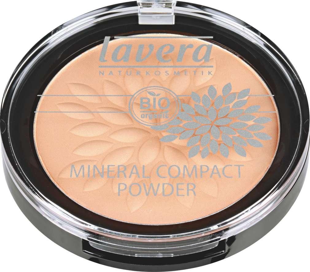 Abbildung des Sortimentsartikels Lavera Mineral Compact Powder Honey 03