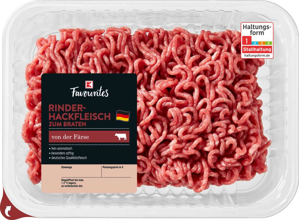 Abbildung des Sortimentsartikels K-Favourites Rinderhackfleisch Simmentaler Färse 400g