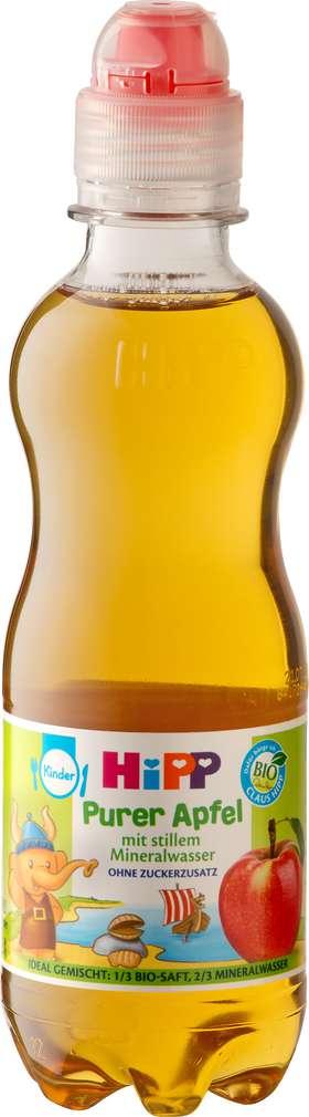 Abbildung des Sortimentsartikels Hipp Purer Apfel mit stillem Mineralwasser 300ml