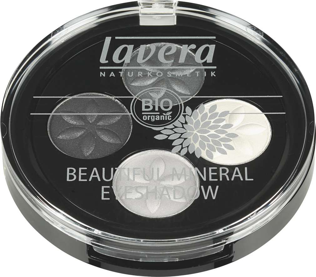 Abbildung des Sortimentsartikels Lavera Beautiful Mineral Eyeshadow Smoky Grey01