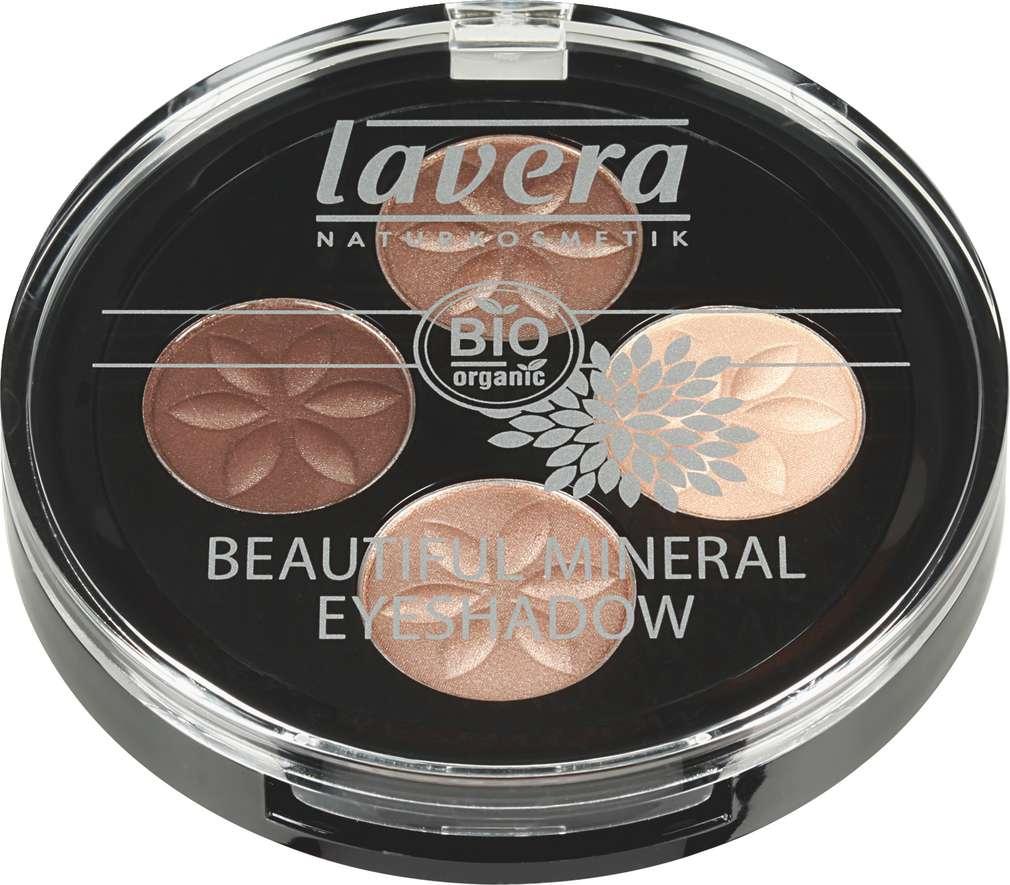 Abbildung des Sortimentsartikels Lavera Beautiful Mineral Eyeshadow Cappuccino Cream 02