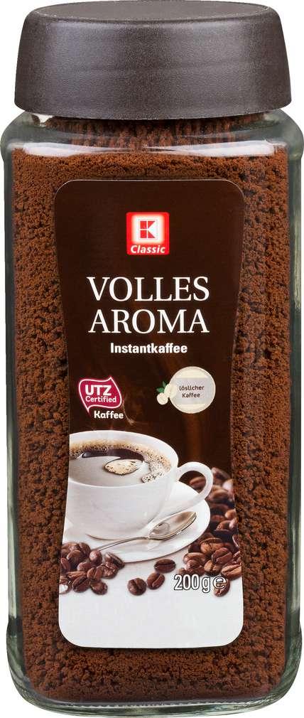 Abbildung des Sortimentsartikels K-Classic Instant Kaffee Volles Aroma 200g