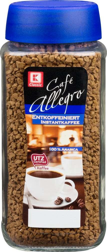 Abbildung des Sortimentsartikels K-Classic Instant Kaffee Entkoffeiniert 100g