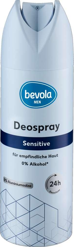 Abbildung des Sortimentsartikels Bevola Deospray Men Sensitive 200ml