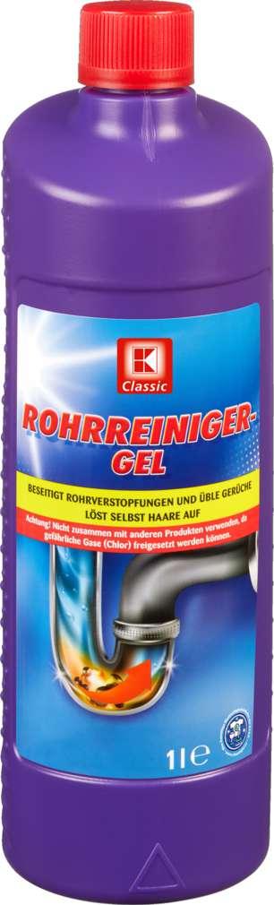 Abbildung des Sortimentsartikels K-Classic Rohrreiniger Gel 1000ml