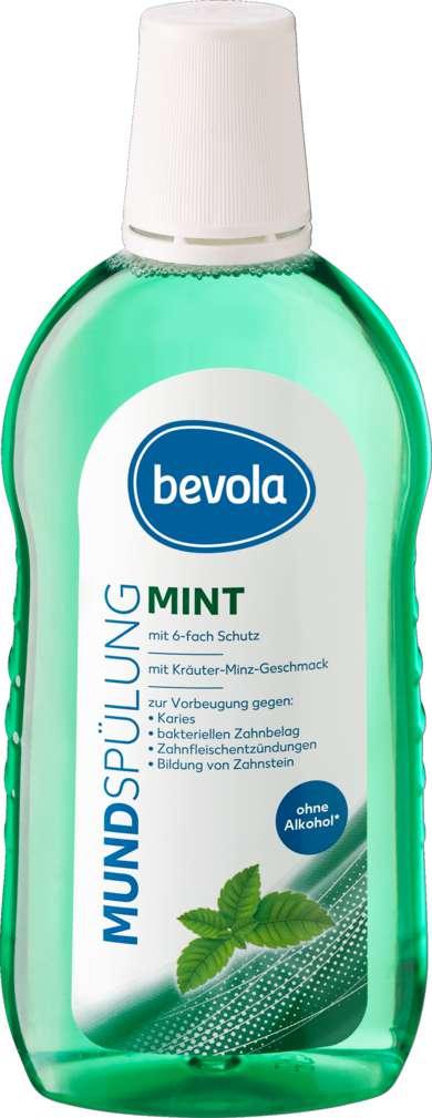 Abbildung des Sortimentsartikels Bevola Mundspülung Mint 500ml