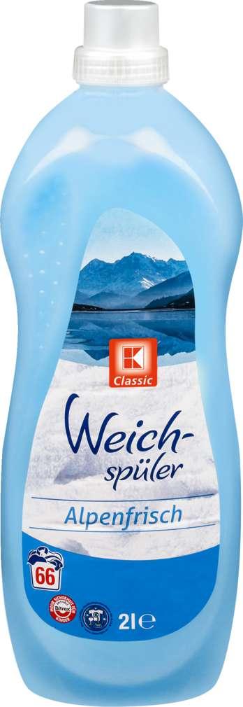 Abbildung des Sortimentsartikels K-Classic Weichspüler Alpenfrische 2l