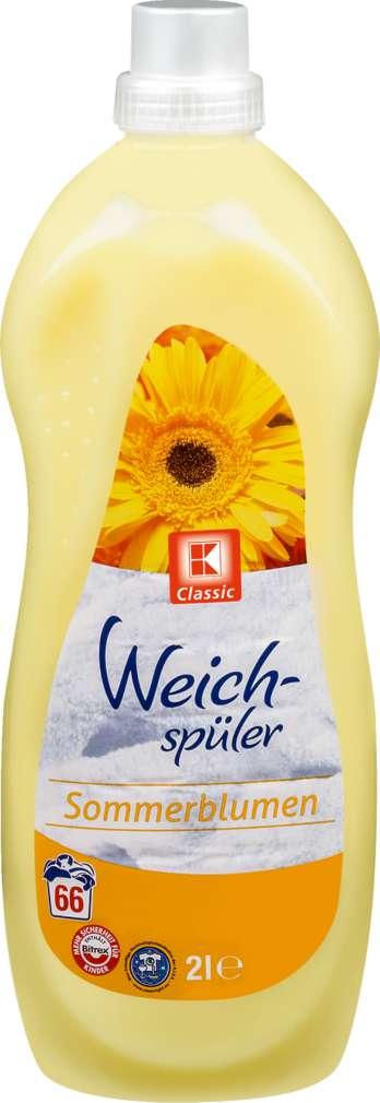 Abbildung des Sortimentsartikels K-Classic Weichspüler Sommerblume 2l