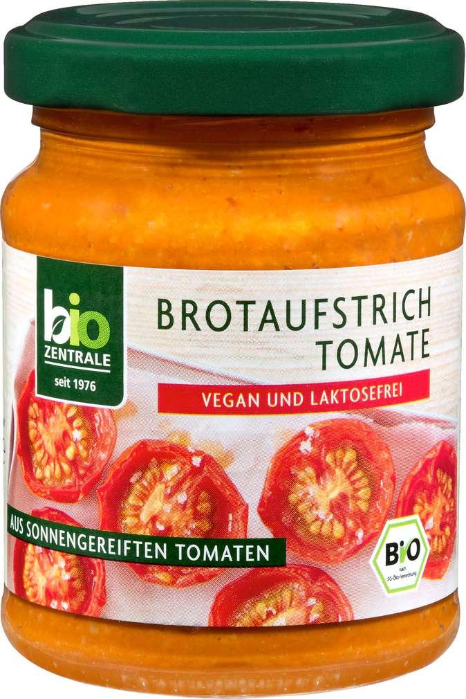 Abbildung des Sortimentsartikels Bio-Zentrale Bio-Brotaufstrich Tomate 125g