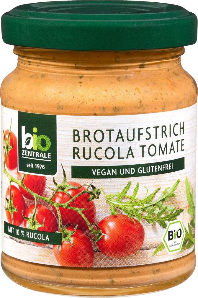 Abbildung des Sortimentsartikels Bio-Zentrale Bio-Brotaufstrich Rucola-Tomate 125g