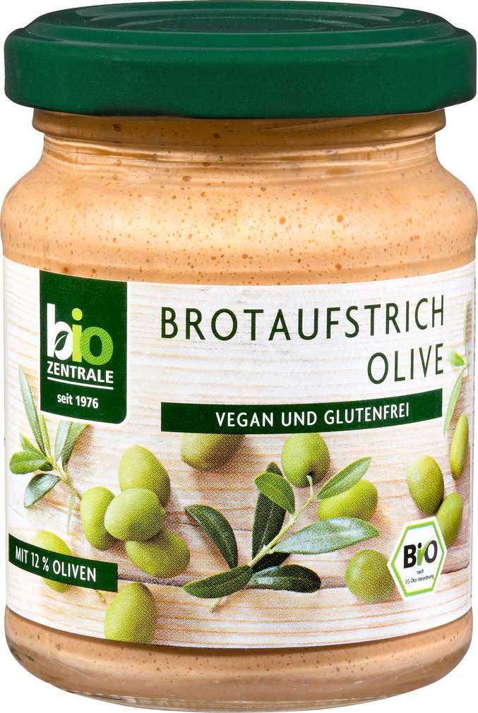Abbildung des Sortimentsartikels Bio-Zentrale Bio-Brotaufstrich Olive 125g