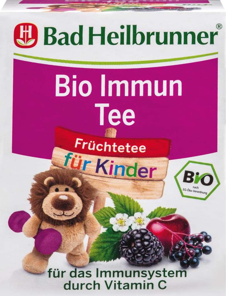 Abbildung des Sortimentsartikels Bad Heilbrunner Kindertee Immun 8 Beutel