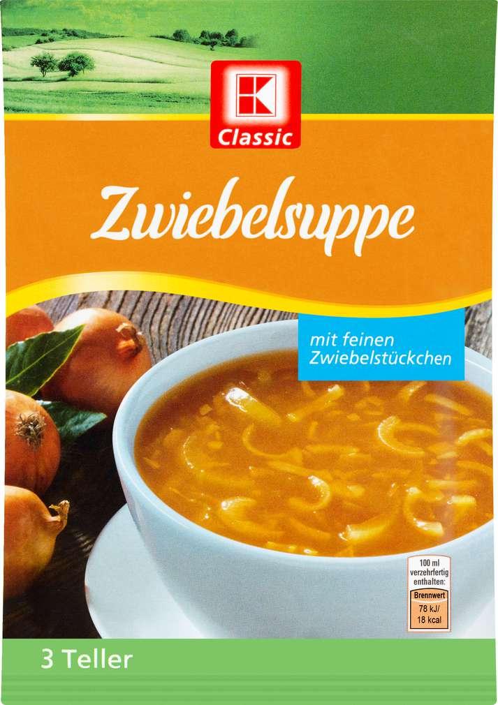 Abbildung des Sortimentsartikels K-Classic Suppe Zwiebel 44g