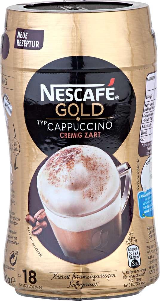 Abbildung des Sortimentsartikels Nescafé Gold Cappuccino cremig zart 250g
