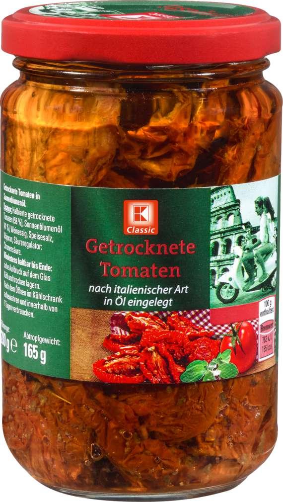 Abbildung des Sortimentsartikels K-Classic Tomaten Getrocknet 280g