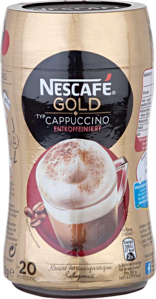 Abbildung des Sortimentsartikels Nescafé Gold Cappuccino entkoffeiniert 250g