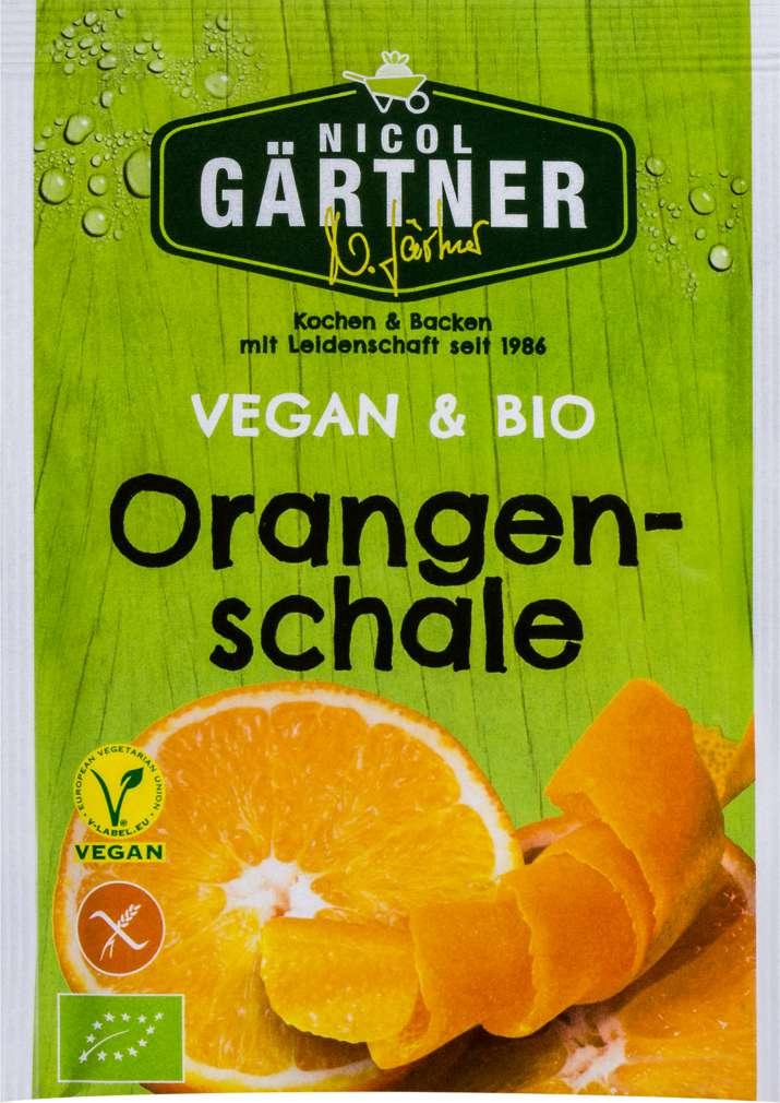 Abbildung des Sortimentsartikels Nicol Gärtner Bio-Orangenschale vegan, glutenfrei 9g