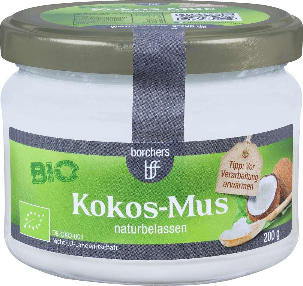 Abbildung des Sortimentsartikels Borchers Bio-Kokos-Mus 200g