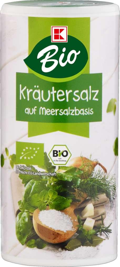 Abbildung des Sortimentsartikels K-Bio Kräuter-Gewürzsalz 150g