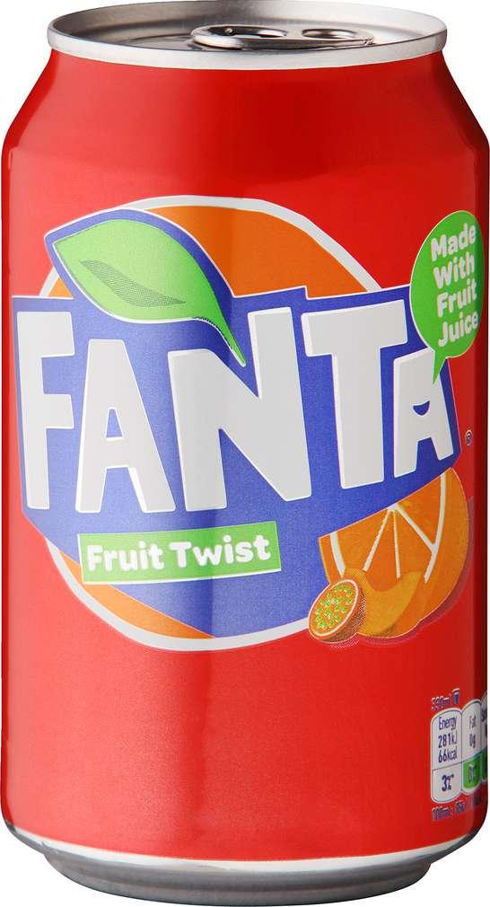 Abbildung des Sortimentsartikels Fanta Fruit Twist Limonade 0,33l