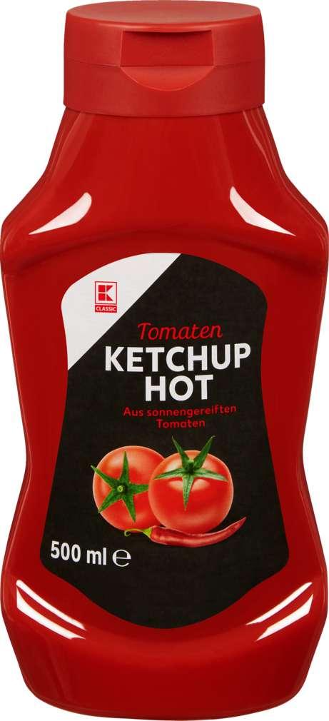 Abbildung des Sortimentsartikels K-Classic Tomatenketchup Hot 500ml
