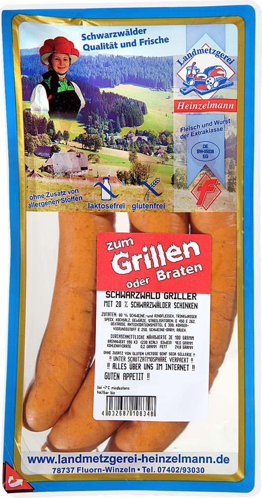 Abbildung des Sortimentsartikels Heinzelmann Delikatess - Wiener gluten-+laktosefrei 400g