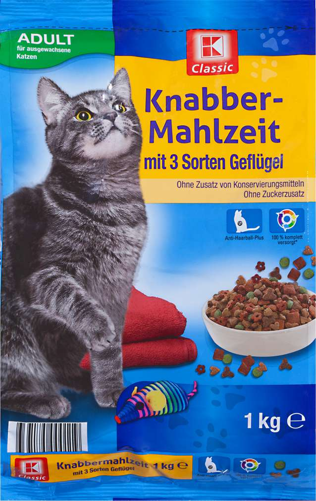 Abbildung des Sortimentsartikels K-Classic Knabber-Mahlzeit Geflügel 1kg