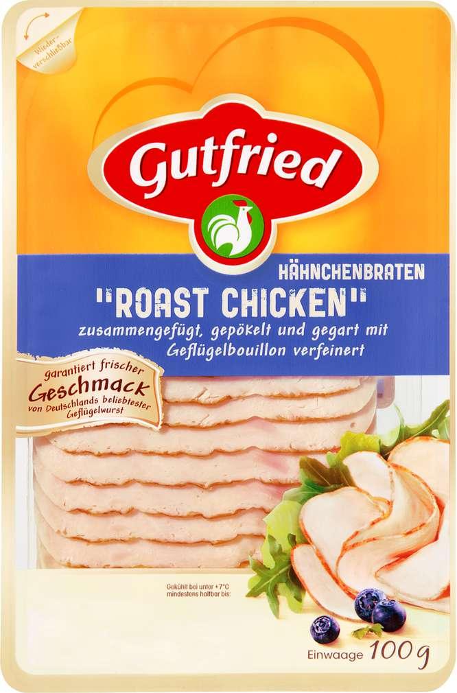 Abbildung des Sortimentsartikels Gutfried Roast Chicken Hähnchenbraten 100g